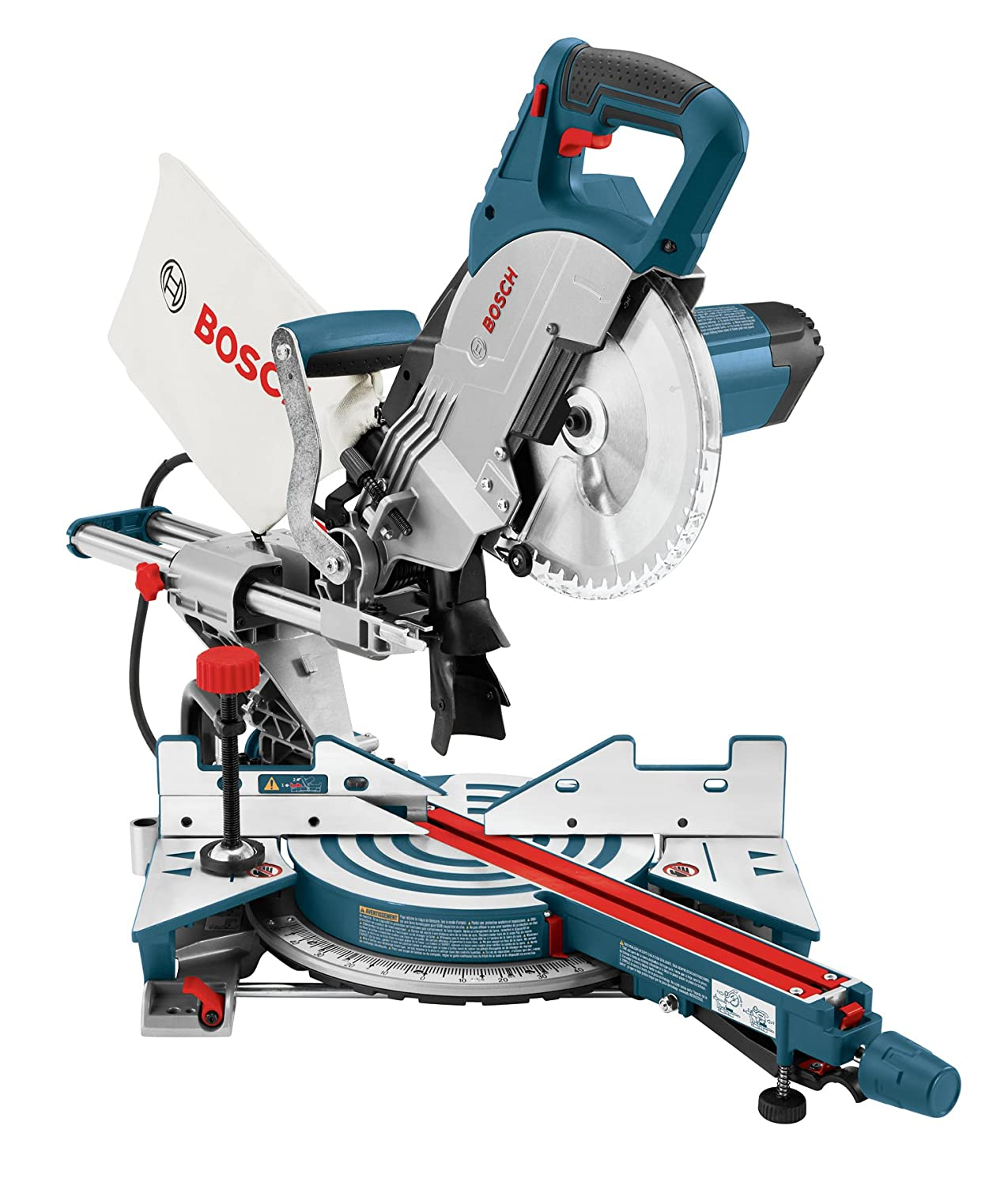Bosch cm8s 8 12 inch single bevel sliding compound miter saw bosch cm8s 8 12 inch single bevel sliding compound miter saw power miter saws amazon greentooth Choice Image