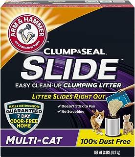 product image for Arm & Hammer SLIDE Easy Clean-Up Litter, Multi-Cat, 28lb