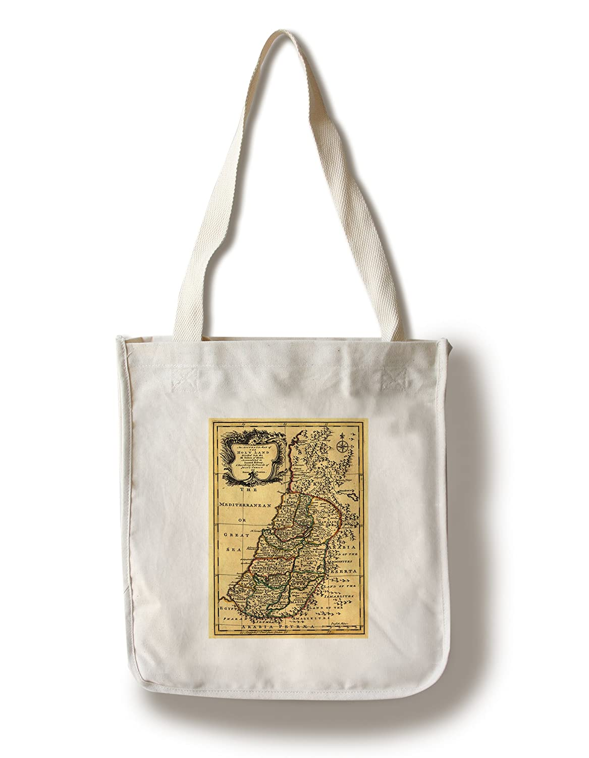 【楽天スーパーセール】 The部族のin Palestine – パノラマMap Canvas Palestine パノラマMap Tote Bag Bag LANT-19911-TT B01841K5TM Canvas Tote Bag, コロンディー:1067c514 --- arianechie.dominiotemporario.com