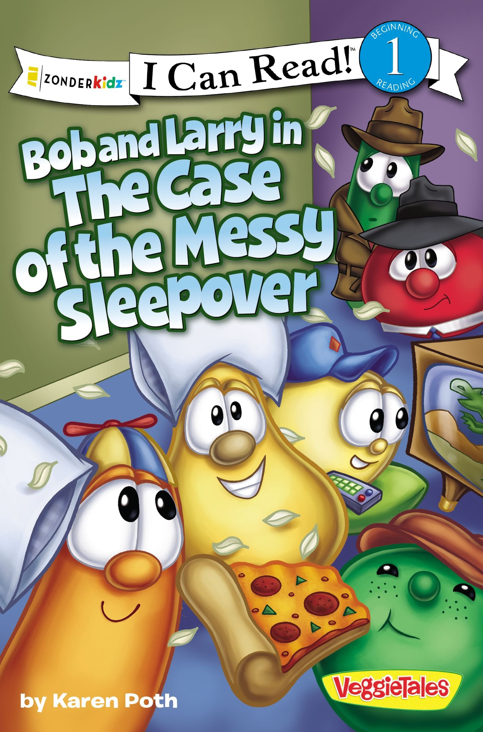 Bob and Larry in the Case of the Messy Sleepover (I Can Read! / Big Idea Books / VeggieTales) PDF