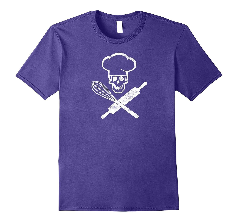Badass Baker Funny Baking T-shirt I Love Baking Humor Tee ed-BN