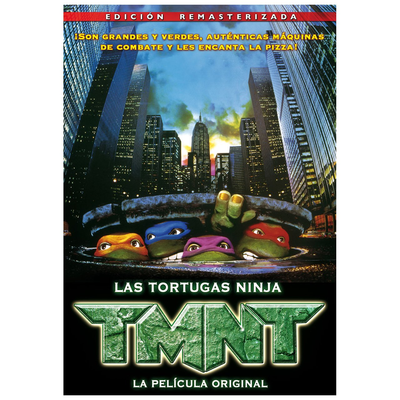 Amazon.com: TMNT 1, La Película Original (Import Movie ...