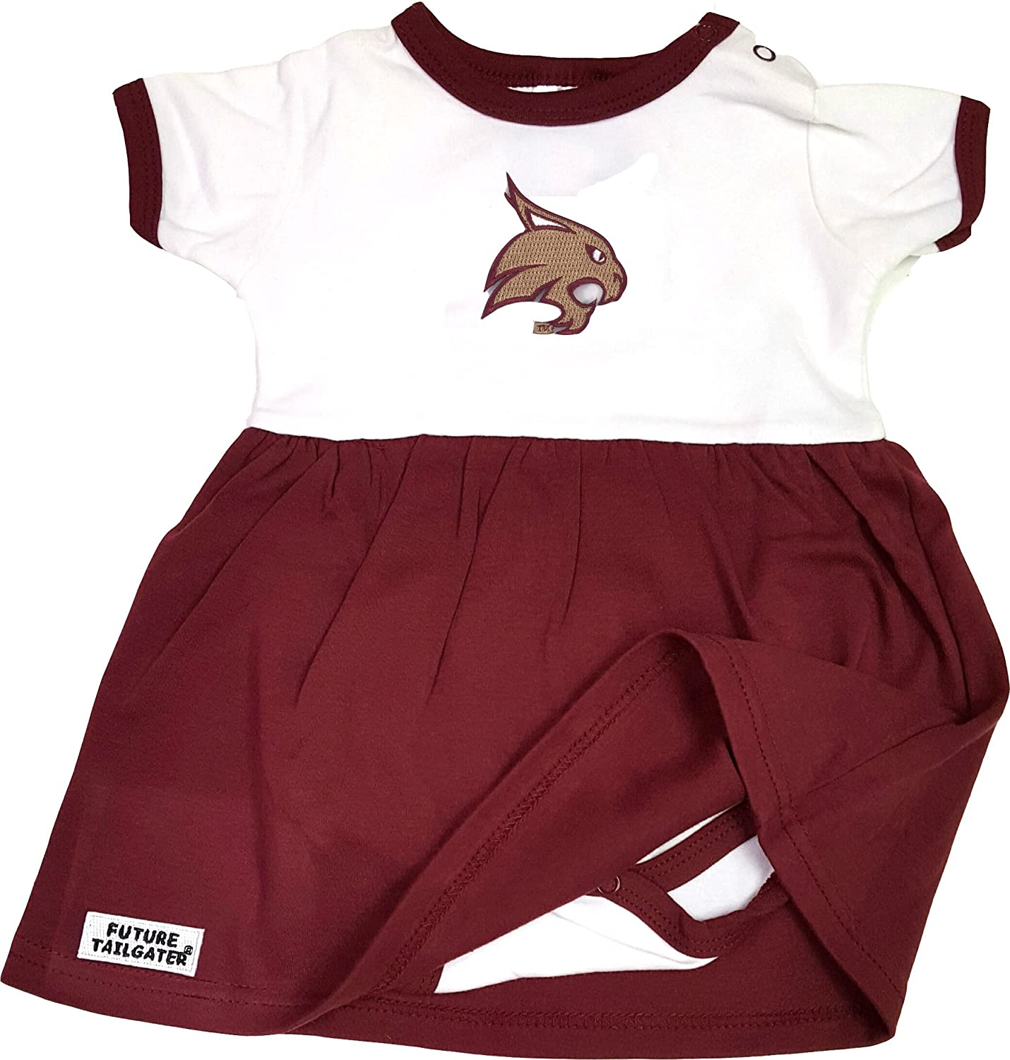 Amazon Texas State Bobcats Baby esie Dress Sports & Outdoors