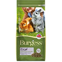 Burgess Excel Nuggets with Mint Light Rabbit Food 4kg