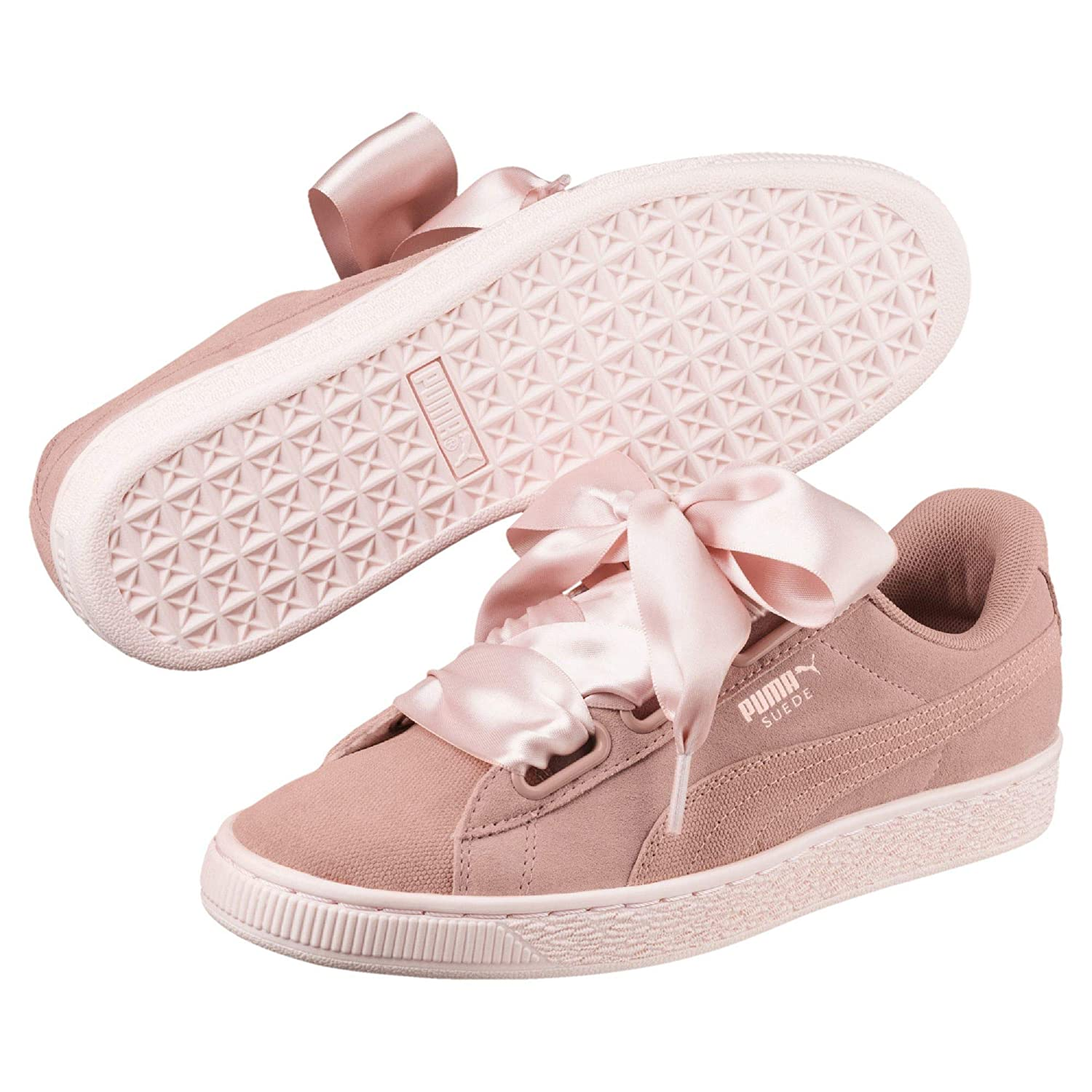 Suede Pebble Trainers Puma Women's Wn's Heart BorWedxC