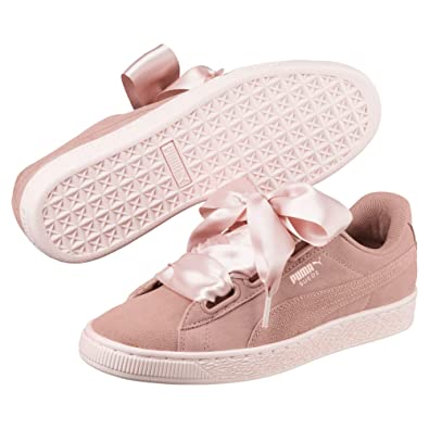 new arrival 7638e 436d7 Puma Women's Suede Heart Pebble WN's Trainers