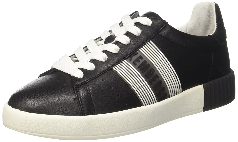 Bikkembergs Cosmos 2130, Zapatillas para Mujer 37 EU|Negro (Black/White 900.0)
