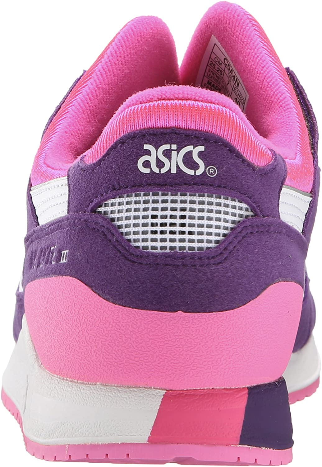 ASICS Gel Lyte III GS Running Shoe (Big Kid) Purple/White