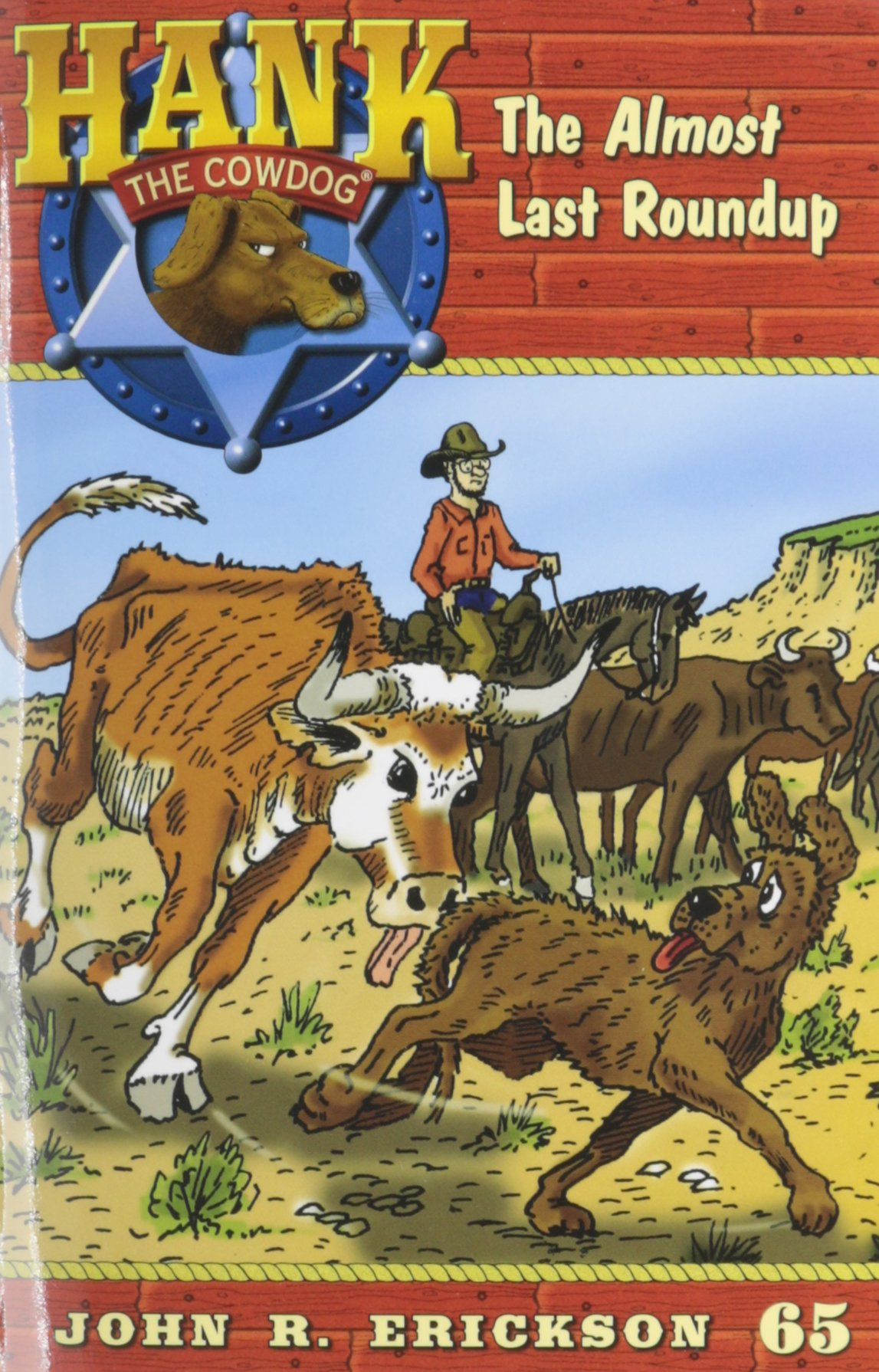 The Almost Last Roundup (Hank the Cowdog (Paperback)) PDF