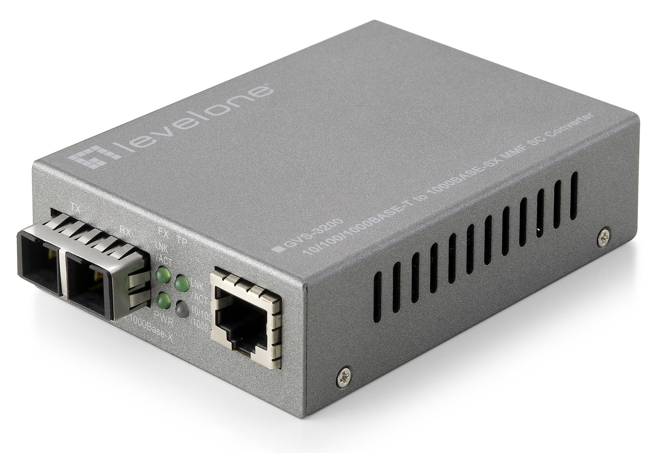 CP Technologies Web Smart 10/100/1000 Based-T to 1000SX MMF SC Media Converter (GVS-3200) by CP Technologies (Image #1)