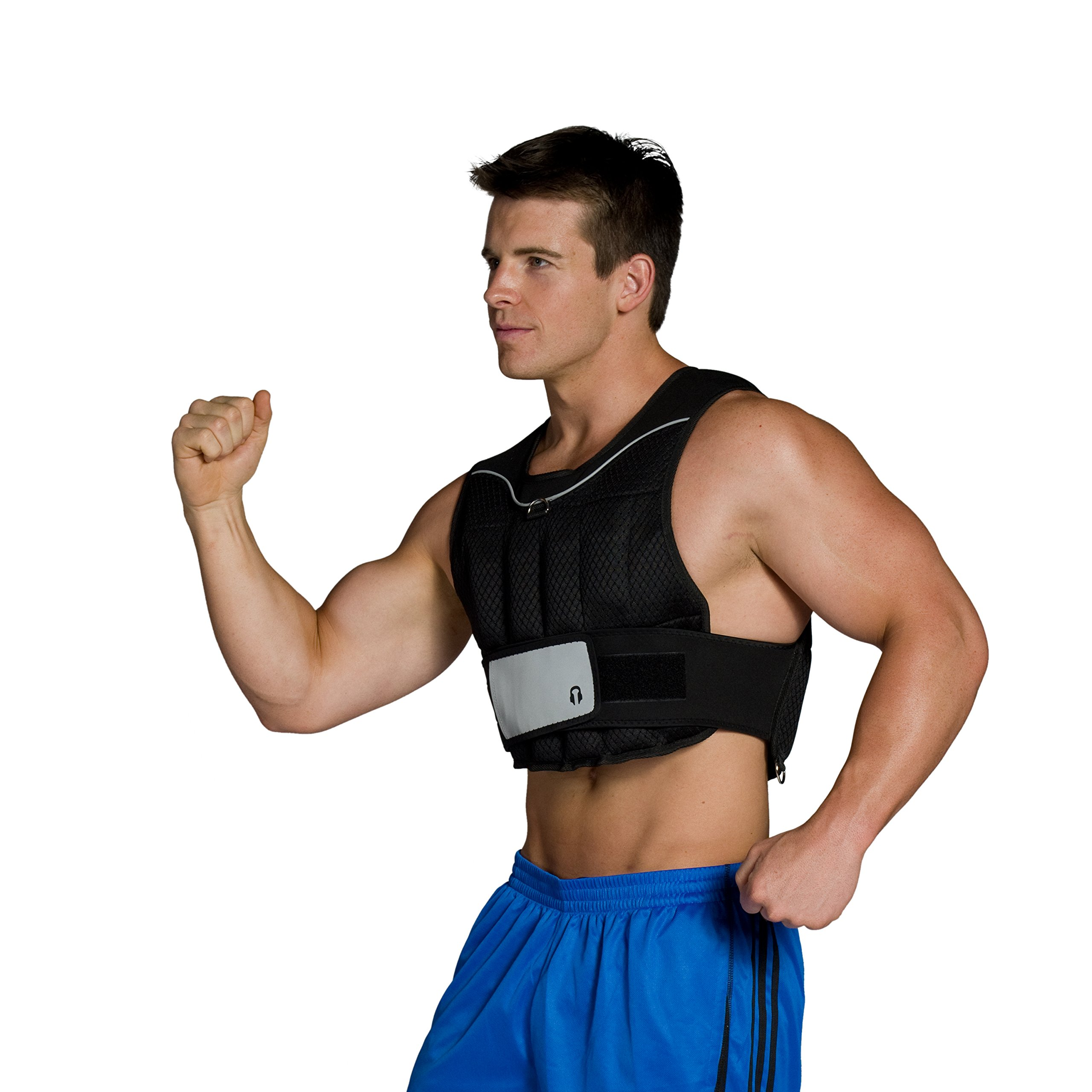CAP Barbell (HHWV-CB020C) Adjustable Weighted Vest, 20-Pound by CAP Barbell