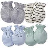 Gerber baby-boys 4-pair Mittens