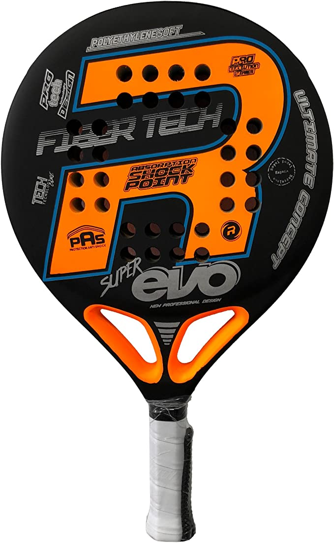 Royal Pádel Pala Super EVO Orange 2018: Amazon.es: Deportes y aire ...