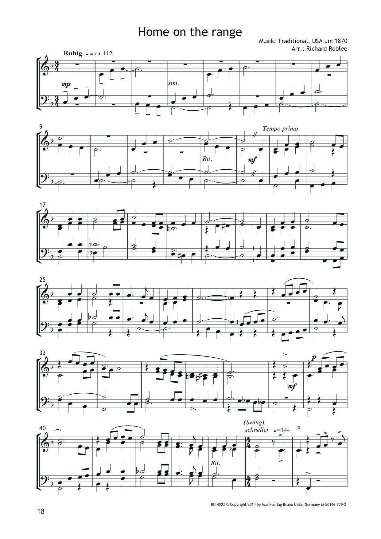 Noten Von O Tannenbaum.Sprituals And More Für Posaunenchor Chorausgabe 8 Partituren