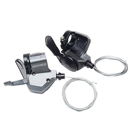 Amazon com : SunRun SL-KDSG-30 7 Speed Index Thumb Shifter