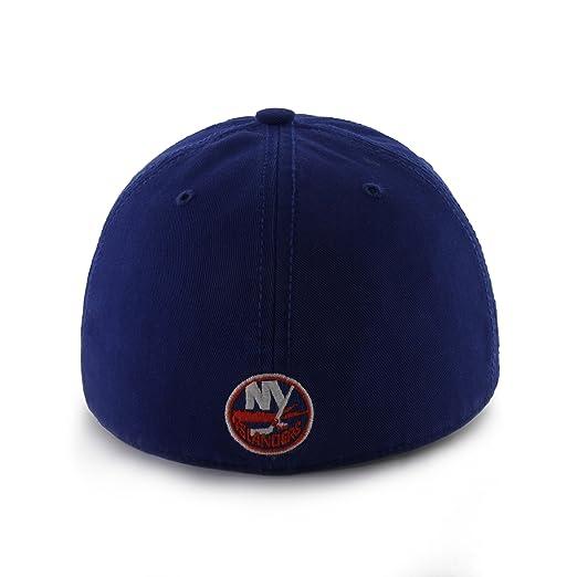 super cute 3b957 7e2b2 Amazon.com   NHL New York Islanders  47 Brand Franchise Fitted Hat   Sports    Outdoors