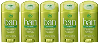 Ban Invisible Solid Antiperspirant and Deodorant