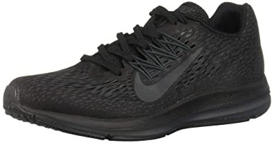 reputable site d1a8a 5ffca Nike Womens Zoom Winflo 5 Womens Aa7414-002 Size 5 Black Anthracite