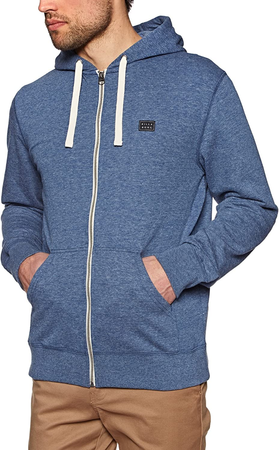 TALLA XS. G.S.M. Europe - Billabong All Day Zip Hood Sudadera con Capucha