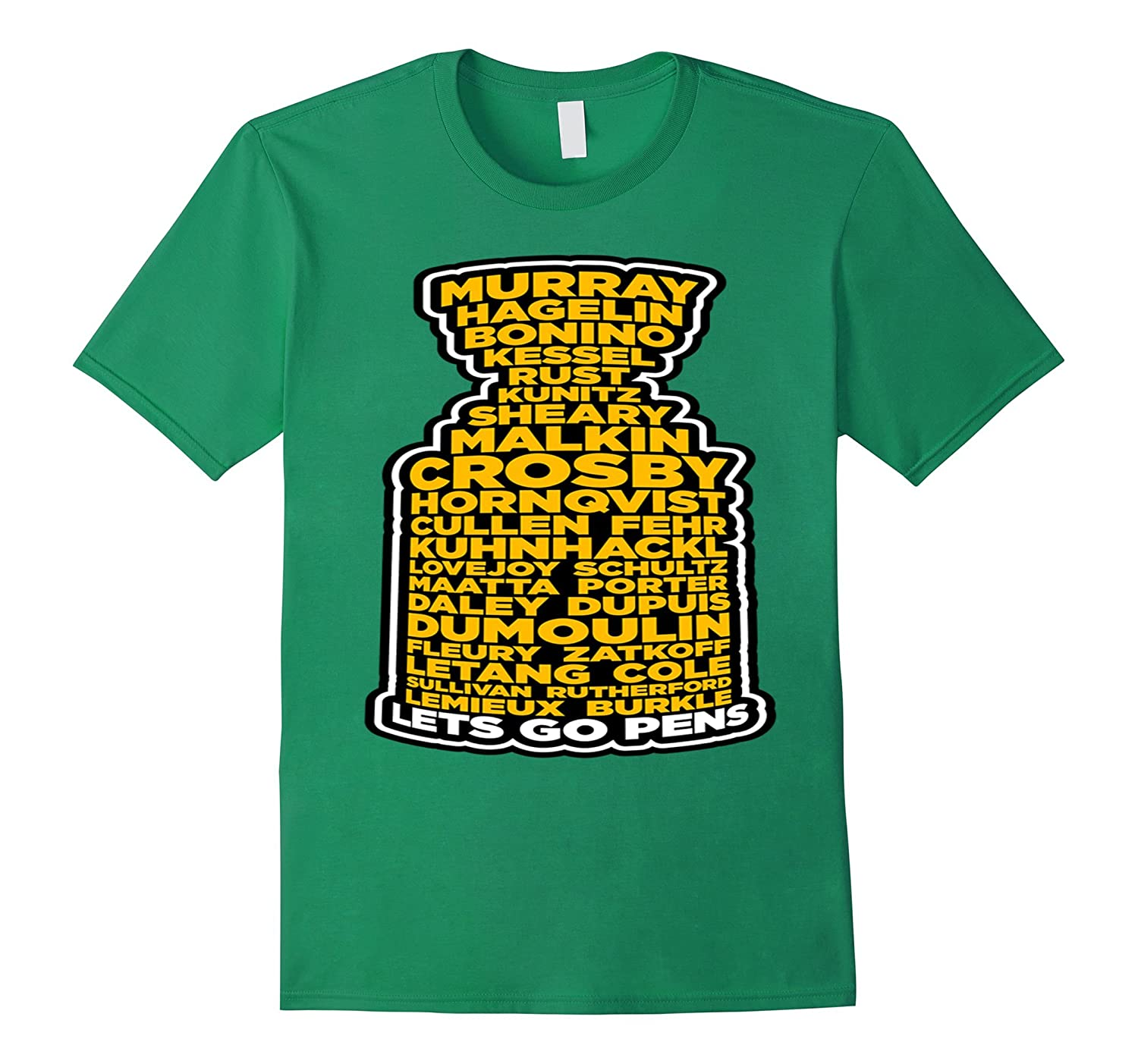 Roster Of Champs Pens Lets Go T- shirt for Men Women And Chi-Vaci