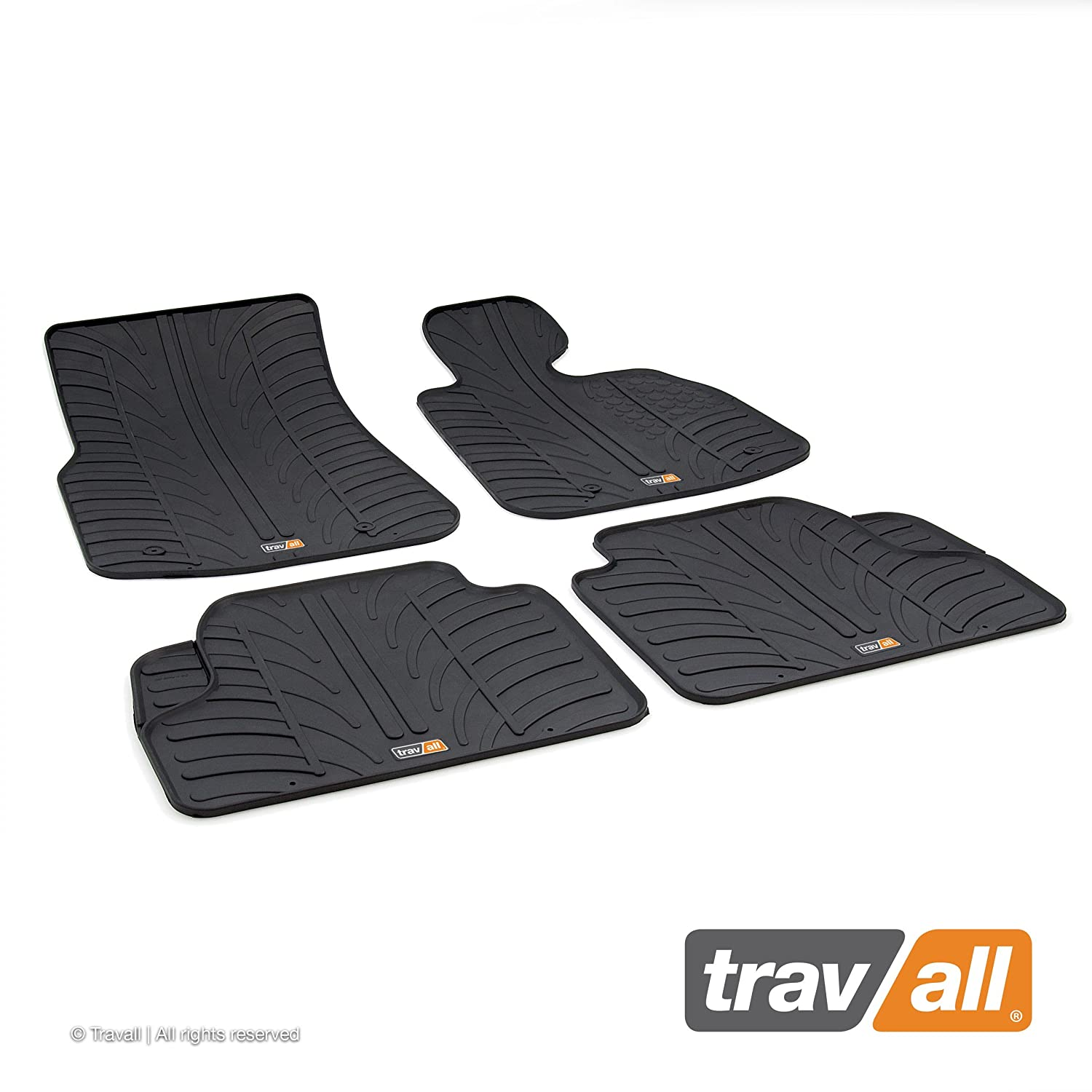 Travall Mats TRM1024R - Vehicle-Specific Rubber Floor Car Mats