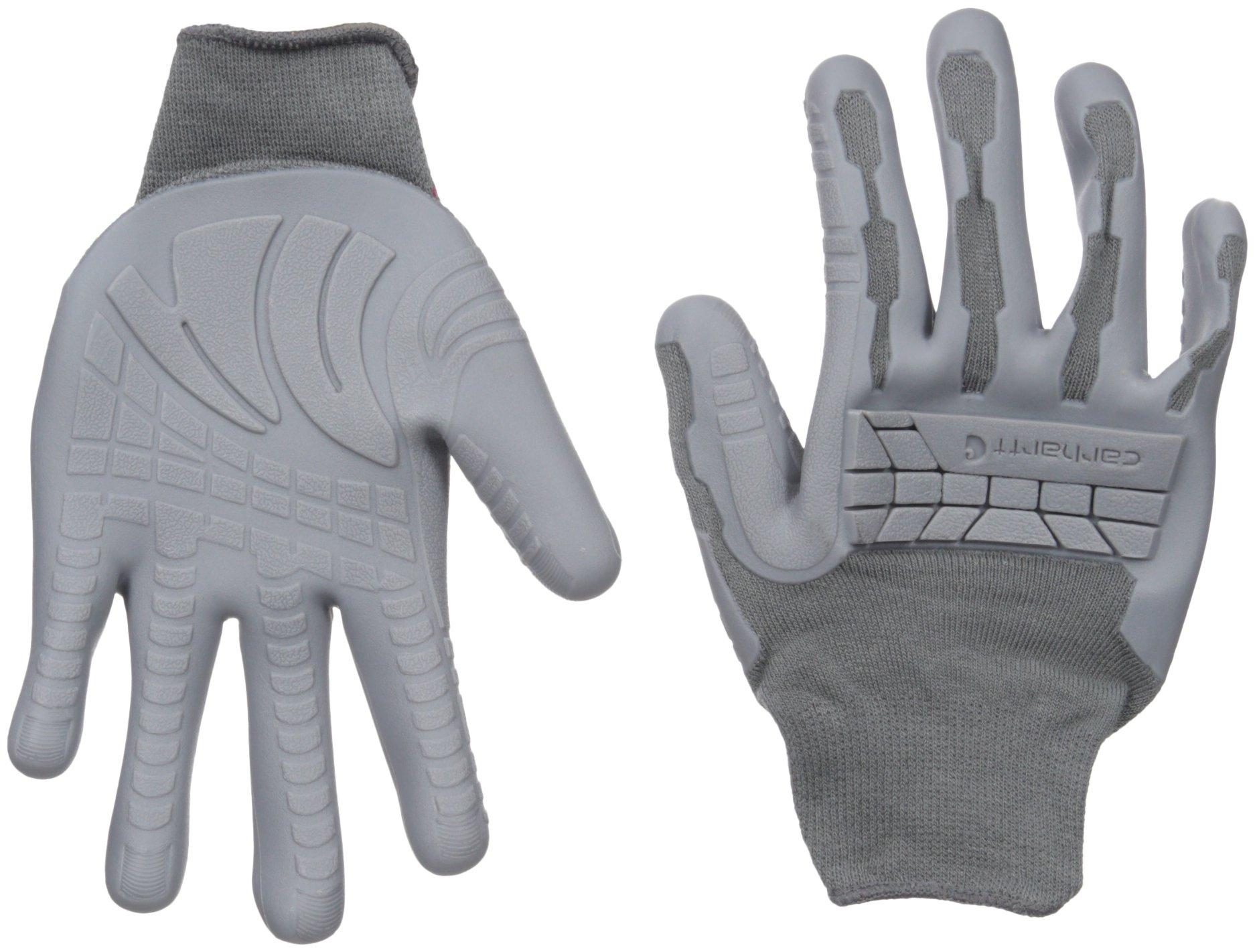 Carhartt Women's Knuckler Glove, Grey, Large/X-Large