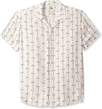 Quiksilver The OG Camp Fluid Woven Top Camisa para Hombre: Amazon.es: Ropa y accesorios