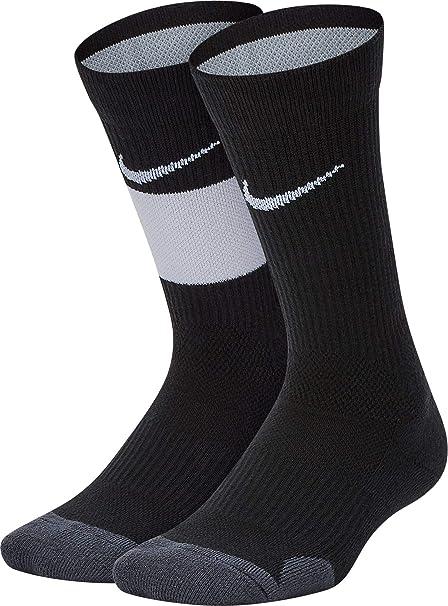 Nike Youth Elite Basketball Crew Socks 2 Pack: Amazon.es ...