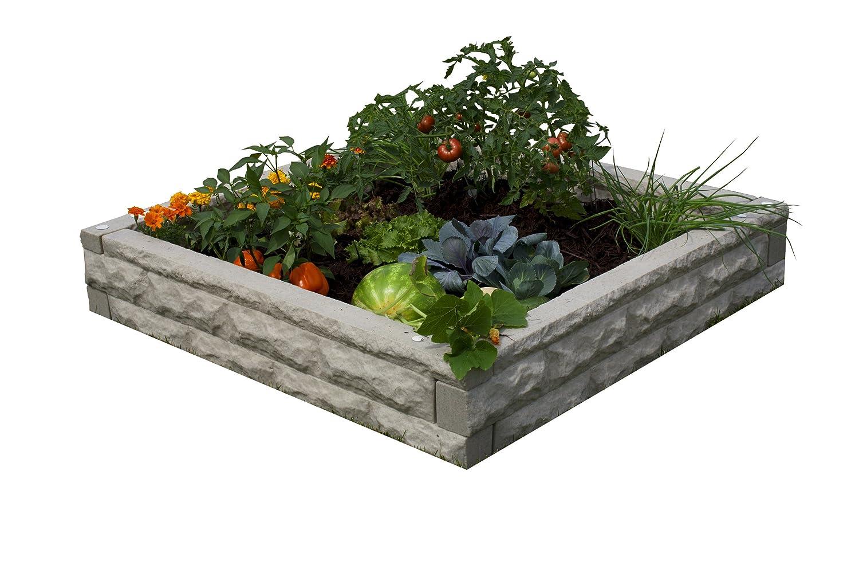 Good Ideas GW-RBG-SAN Garden Wizard Raised Bed Garden, Sandstone