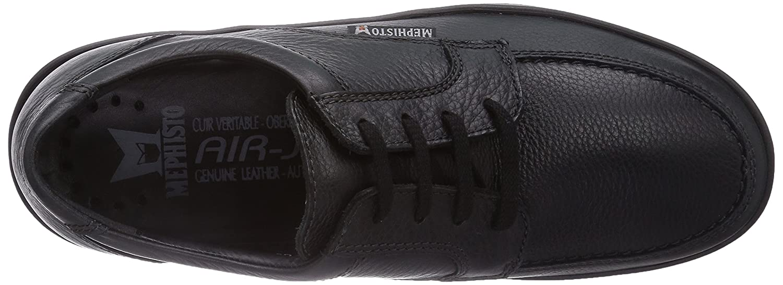 Mephisto Janeiro Natural 7200 Black Zapatos de Cordones para Hombre