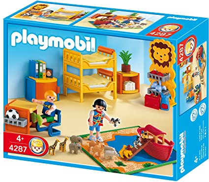 Amazon.com: Playmobil habitación de los niños: Toys & Games