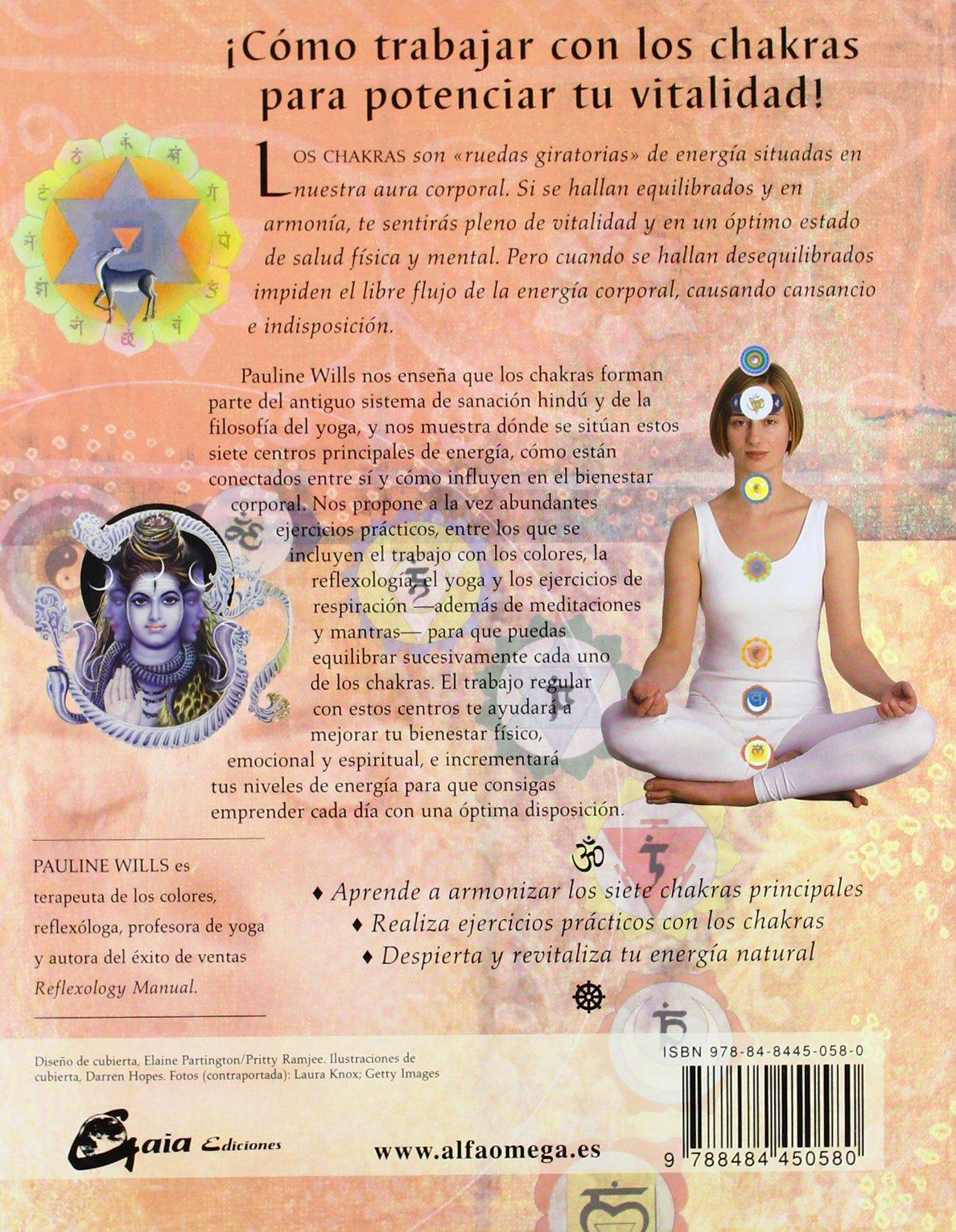 Chakras. Libro de trabajo: Reequilibra las energías vitales ...
