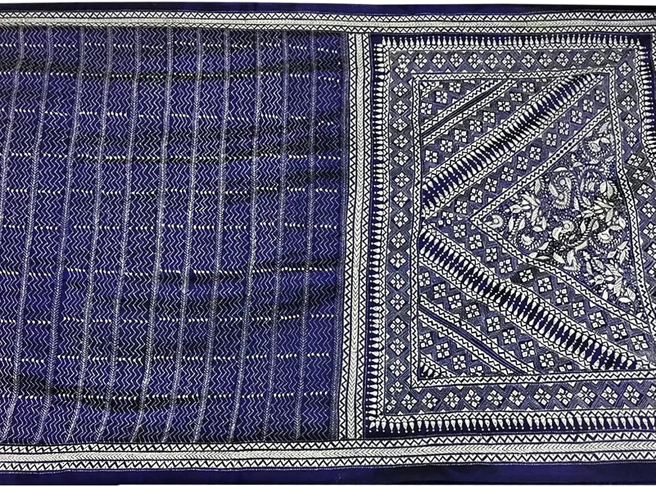 Sari de seda baluchuri tradicional étnica diseñador hecho a ...