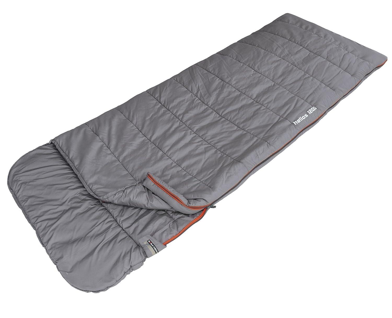 High Peak Helios 1200 - Saco de dormir (220 x 80 cm), color gris: Amazon.es: Deportes y aire libre