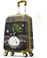 Olympia Luggage Arirang Art Series 21 Inch Carry-On