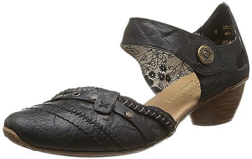 43702, Womens Closed Toe Heels Rieker