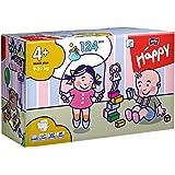 Bella Baby Happy Windeln, Big Pack, Größe 4 (Maxi+), 9-20kg, (1 x 124 Windeln)