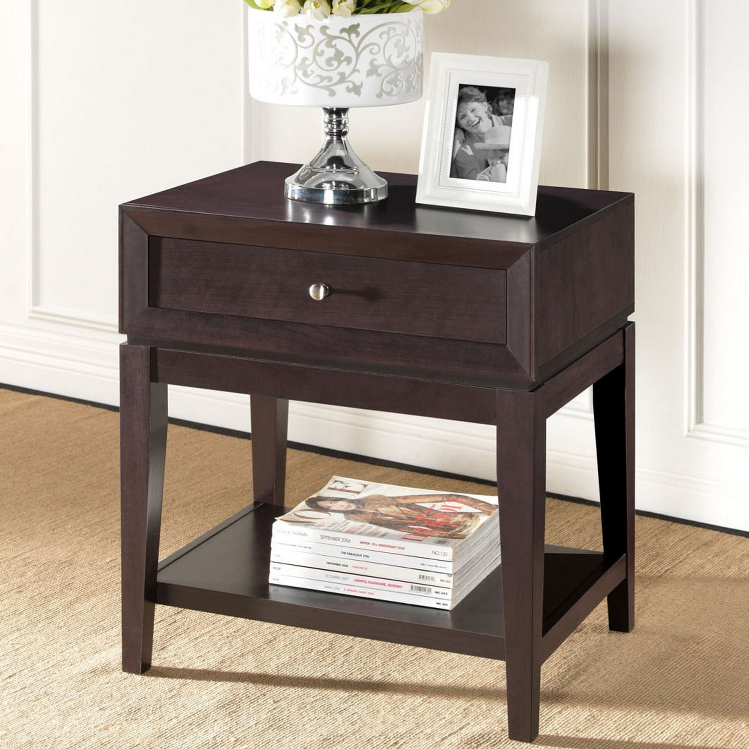 Amazon Baxton Studio Morgan Modern Accent Table and