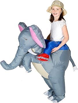 Bodysocks® Disfraz Hinchable de Elefante Niño: Amazon.es: Juguetes ...