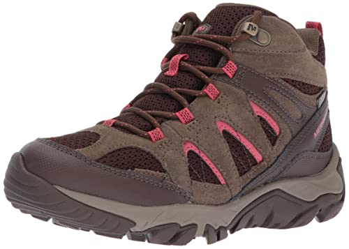 0061216e76085 Merrell Women's Outmost Mid Vent WTPF Hiking Boot