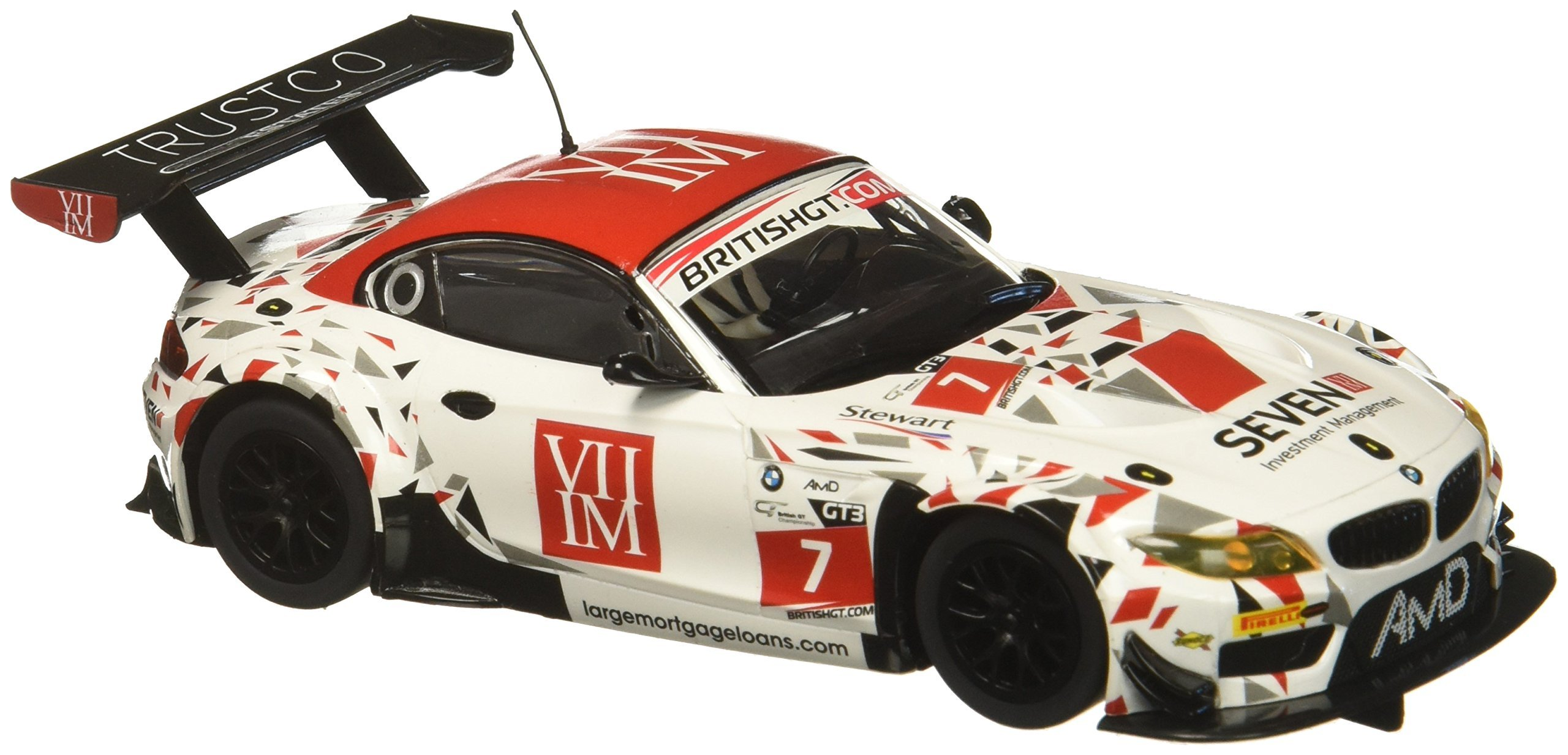 Scalextric BMW Z4 Gt3 AMD Tuning #7 1: 32 Slot Car C3848 Vehicle Replicas