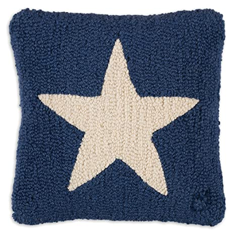 Amazon.com: Chandler 4 Esquinas Estrella Blanca sobre azul ...