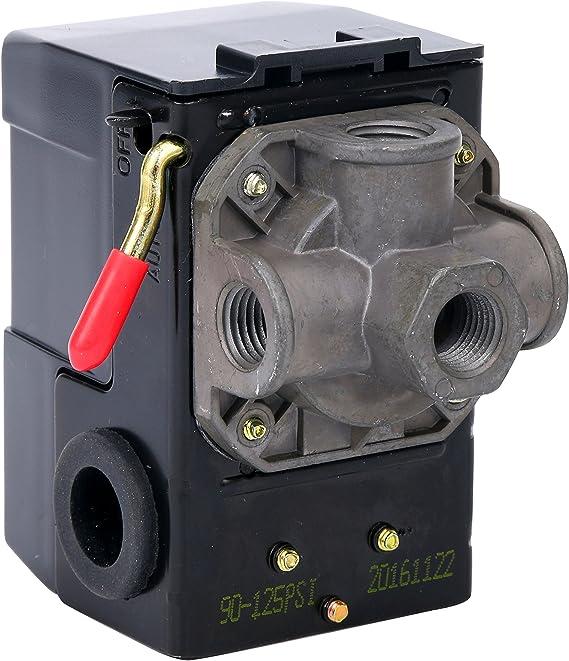 L404A-1370 Pressure Switch 5-50 DIAPHRAM 85 DIFF85PSI SPST L404A1370