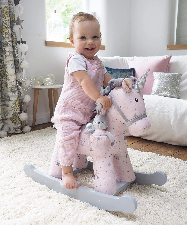 Pink Renewed Little Bird Told Me Celeste /& FAE Rocking Unicorn