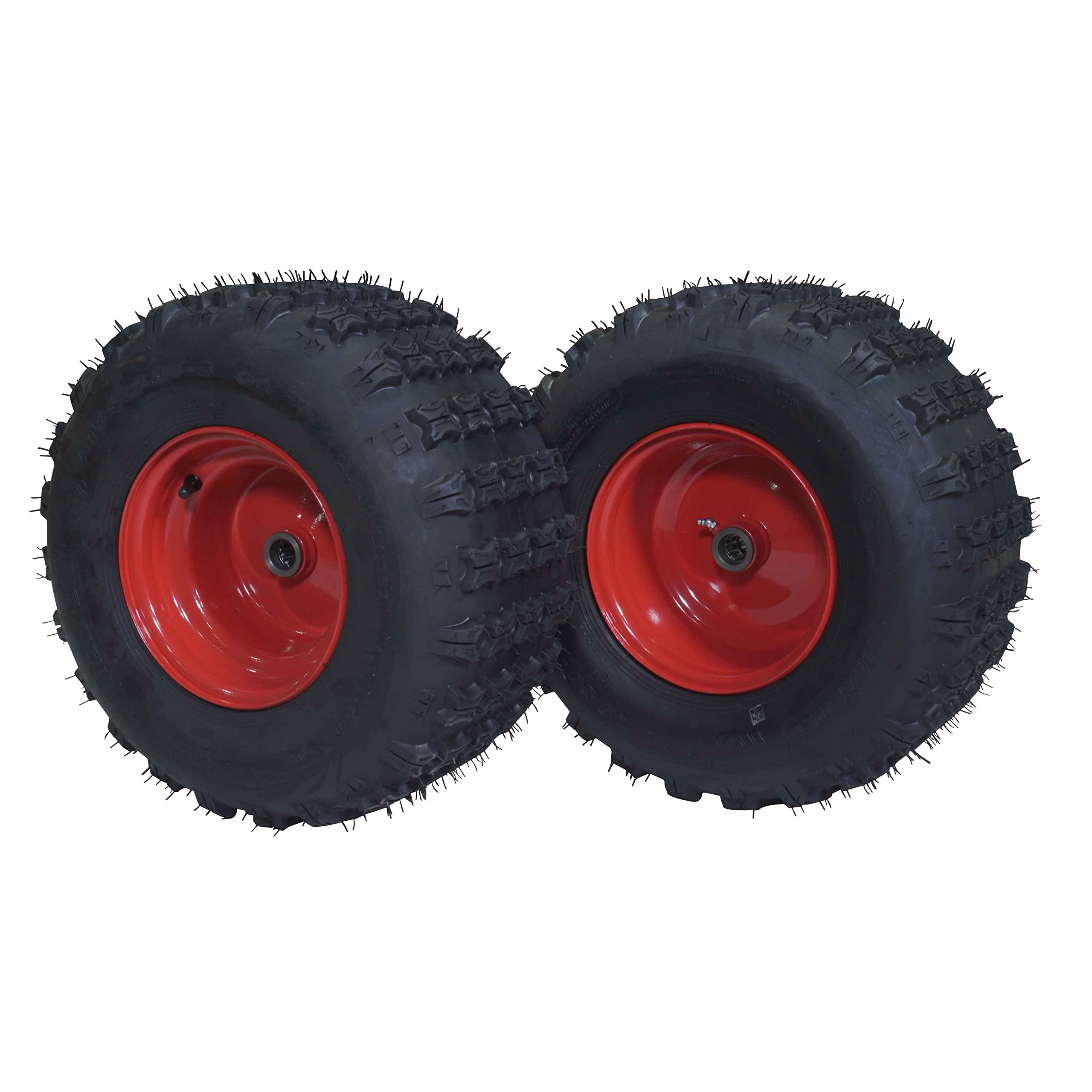 Pair of 18'' Replacement Tires For Titan 60'' x 31'' Steel ATV Utility Trailer