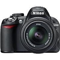 Nikon D3100 14.2MP Digital SLR Camera (Black) with AF-S 18-55mm Nikkor VR Kit Lens, 8GB Card and Camera Bag