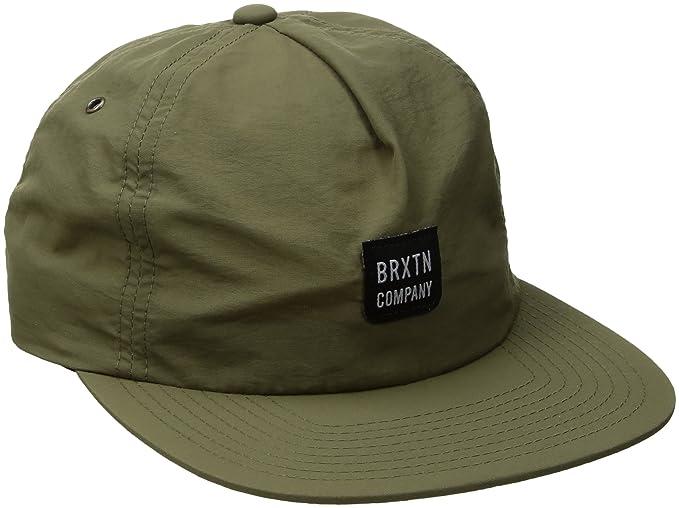 Gorra de béisbol Bering MP de Brixton - Oliva - Ajustable: Amazon.es: Ropa y accesorios