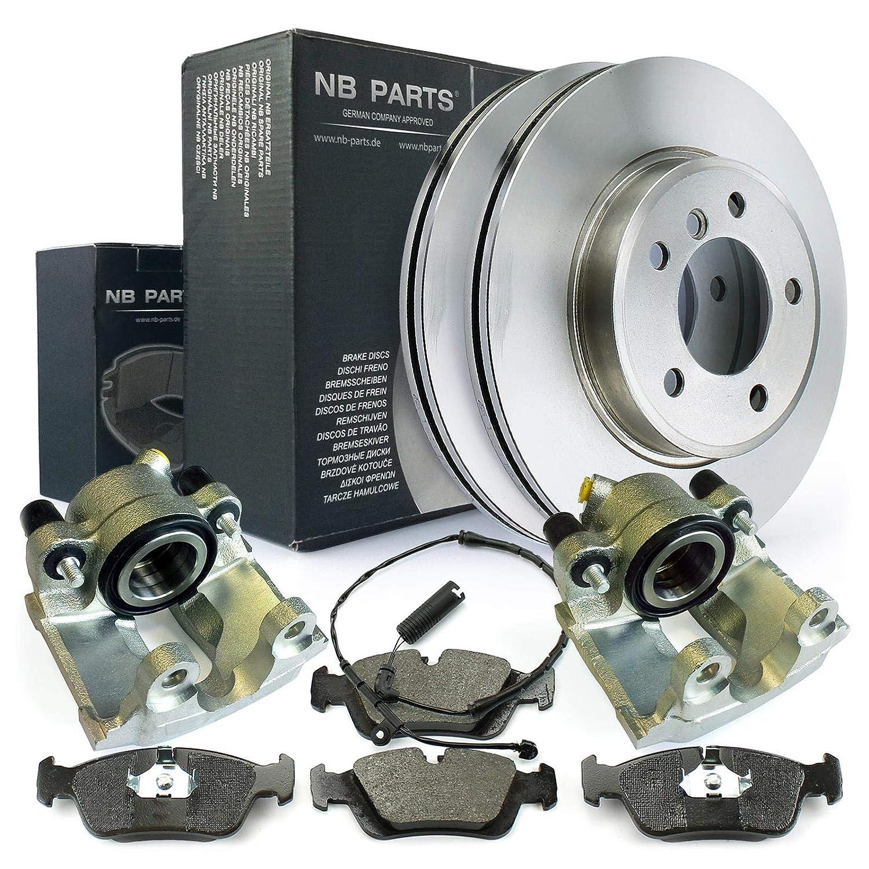 Bremsscheiben 2x Bremssattel vorne NB PARTS GERMANY 10046457 Bremsbel/äge WK