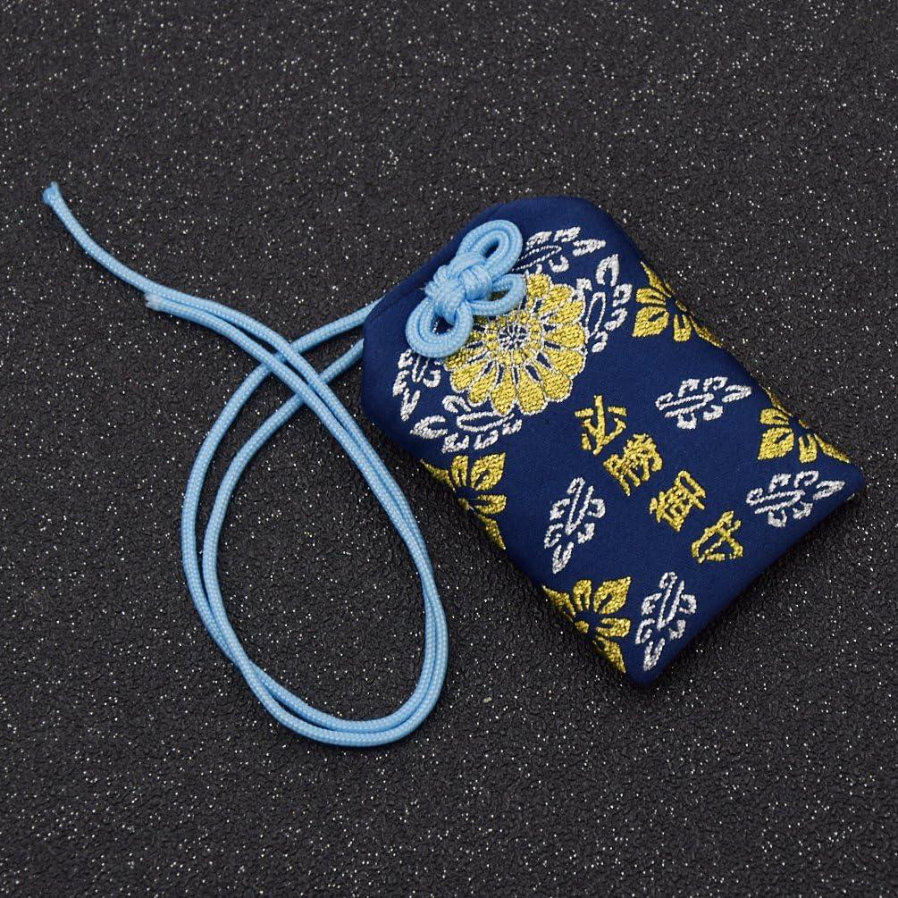YNuth Amulette Japonaise Porte-Bonheur Omamori Accessoire Rose Amour