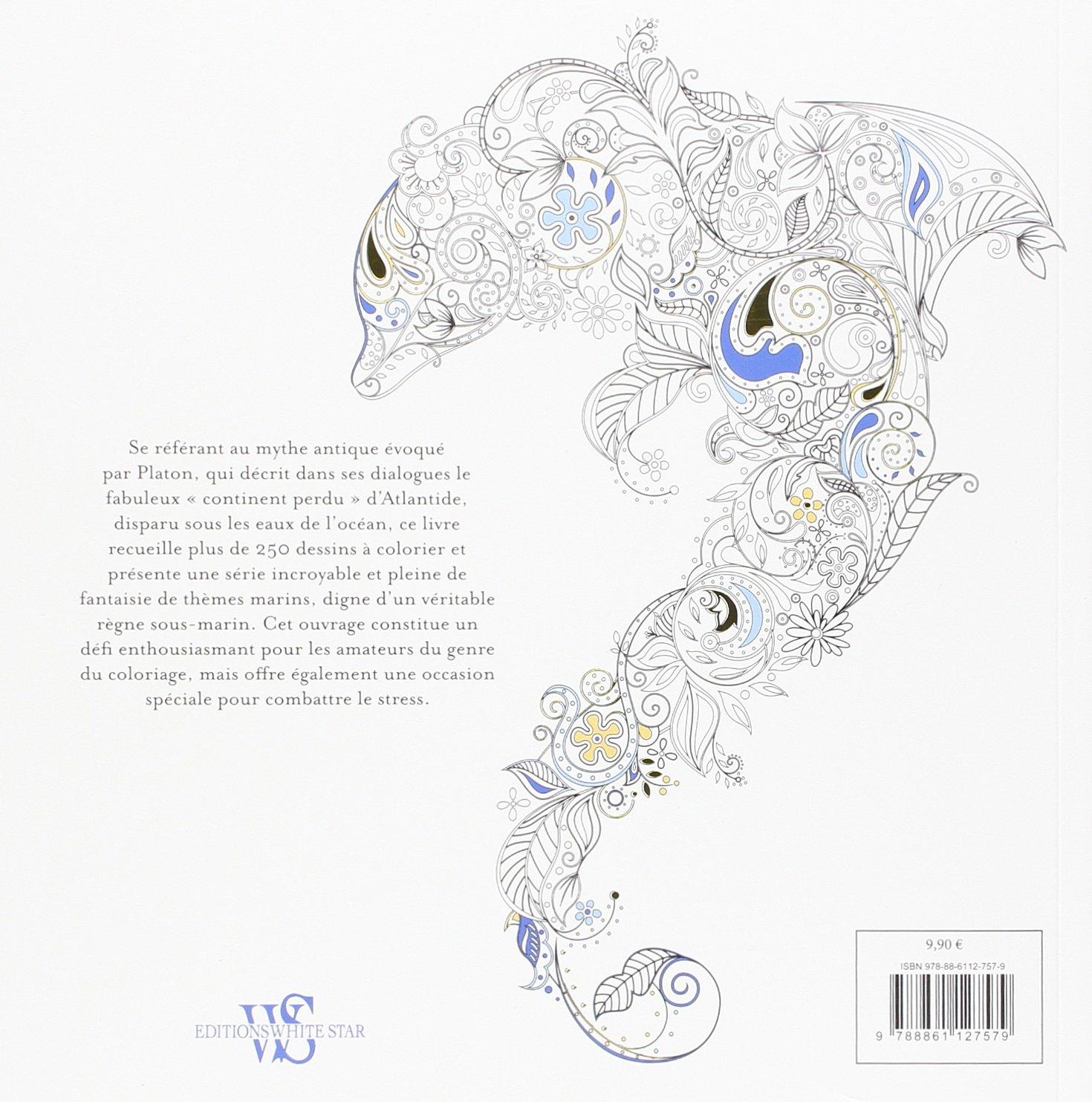 atlantide - dessins à colorier anti-stress